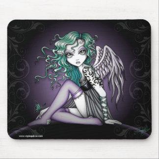 Malory Cute Little Tattoo Angel Mouse Pad