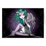 Malory Violet Tattoo Angel Card