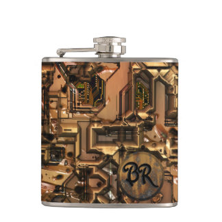 Malos frasco envuelto del robot 3
