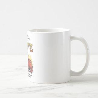 Malos gatitos taza de café
