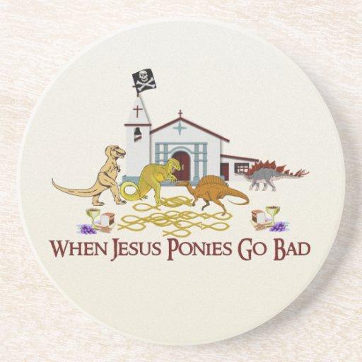 Malos potros de Jesús Posavasos Manualidades