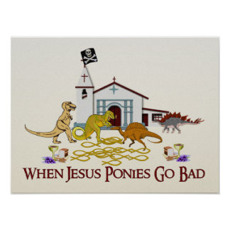 Malos potros de Jesús Póster