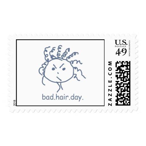 Malos sellos del día del pelo