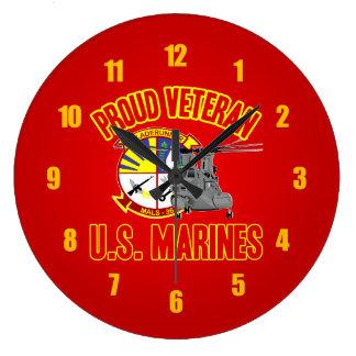 MALS-36 USMC LARGE CLOCK