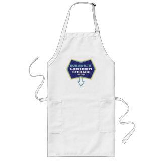 malt liquor holder long apron