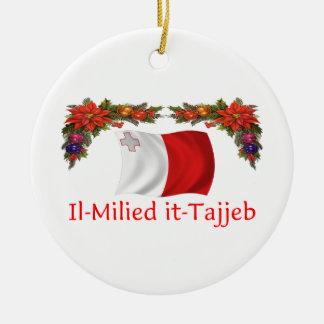 Malta Christmas Christmas Tree Ornaments