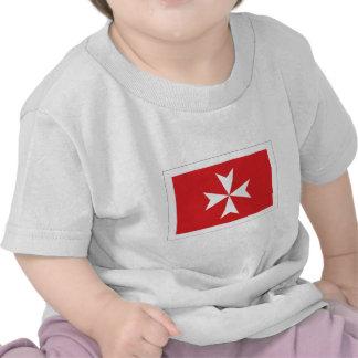 Malta Civil Ensign T Shirt