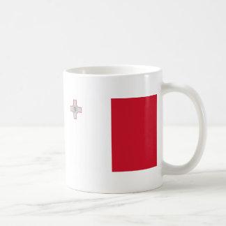 Malta Classic White Coffee Mug
