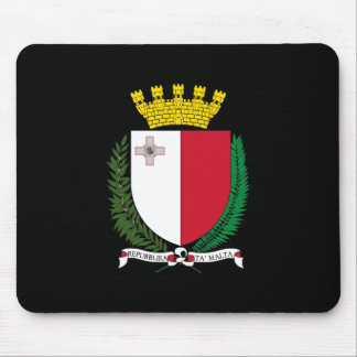 Malta Coat of Arms Mouse Pad