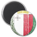 Malta Coat Of Arms Refrigerator Magnets