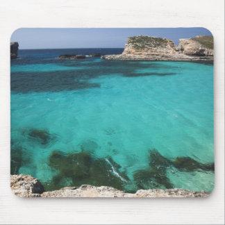 Malta, Comino Island, The Blue Lagoon Mouse Pad