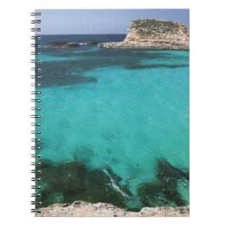 Malta, Comino Island, The Blue Lagoon Notebook