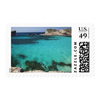 Malta, Comino Island, The Blue Lagoon Postage