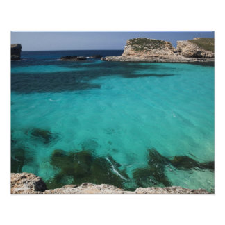 Malta, Comino Island, The Blue Lagoon Print