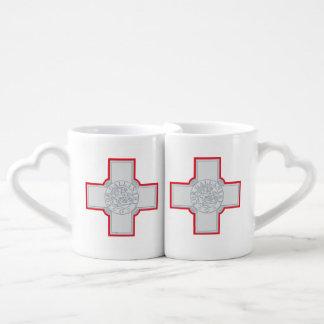 Malta Couples' Coffee Mug Set