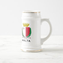 MALTA - emblem/coat of arms/symbol/flag Beer Stein