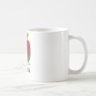MALTA - emblem/coat of arms/symbol/flag Classic White Coffee Mug