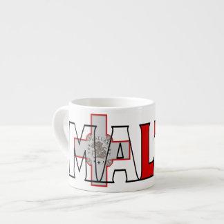 Malta Espresso 6 Oz Ceramic Espresso Cup