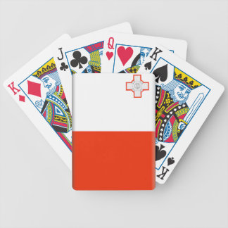 Malta Flag Bicycle Playing Cards