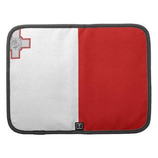 Malta Flag Folio Organizer