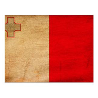 Malta Flag Post Cards
