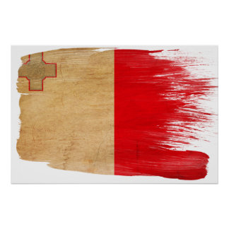 Malta Flag Posters