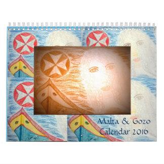 Malta & Gozo Calender 2016 Calendar