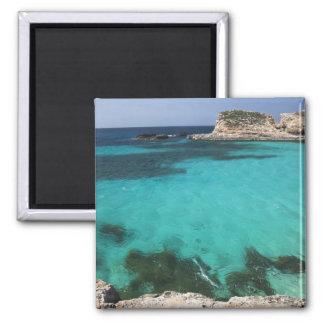 Malta isla de Comino la laguna azul Imanes De Nevera