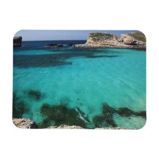 Malta isla de Comino la laguna azul Iman Flexible