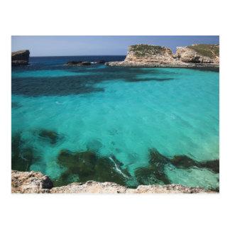 Malta, isla de Comino, la laguna azul Postales