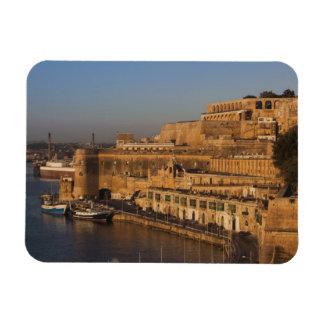 Malta, La Valeta, opinión del puerto de un Barrakk Imanes