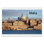 Malta La Valeta (St.K) Tarjeton