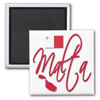 Malta Refrigerator Magnet