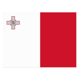 Malta – Maltese National Flag Postcard