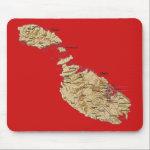 Malta Map Mousepad
