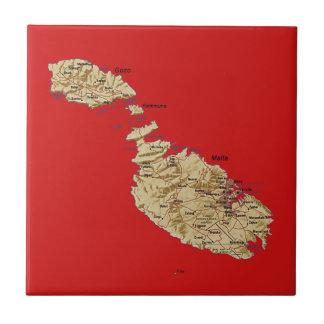Malta Map Tile