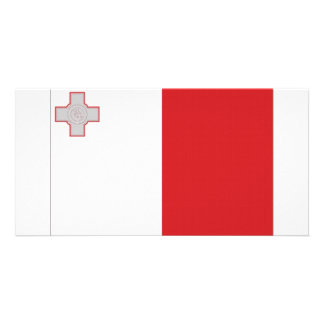 Malta National Flag Photo Card