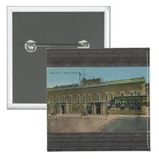 Malta - Royal Palace, vintage Pin