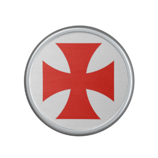 malta templar knights red cross religion symbol bluetooth speaker