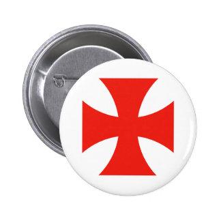 malta templar knights red cross religion symbol button