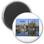 Malta Vallete Harbor (St.K) Magnets