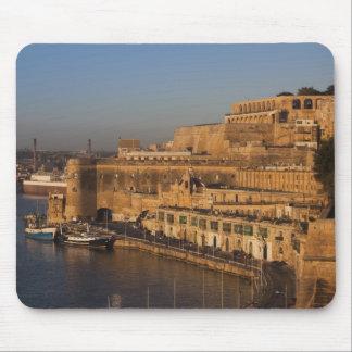 Malta, Valletta, harbor view from Lower Barrakka Mouse Pad