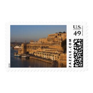 Malta, Valletta, harbor view from Lower Barrakka Postage Stamps