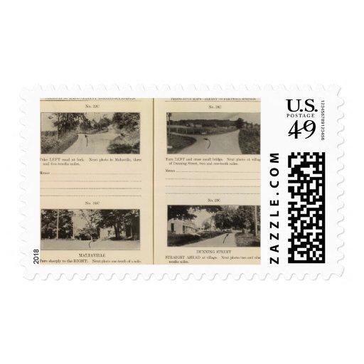 Maltaville Dunning St Stamps