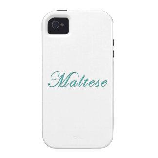 Maltés iPhone 4 Funda
