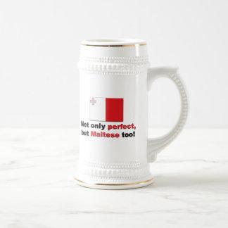 Maltés perfecto taza