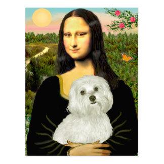 Maltese 11 - Mona Lisa Postcards