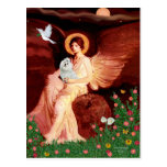 Maltese 7 - Seated Angel Post Cards