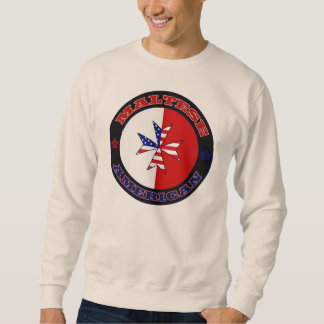 Maltese American Cross Ensign Sweatshirt