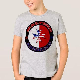 Maltese American Cross Ensign Tee